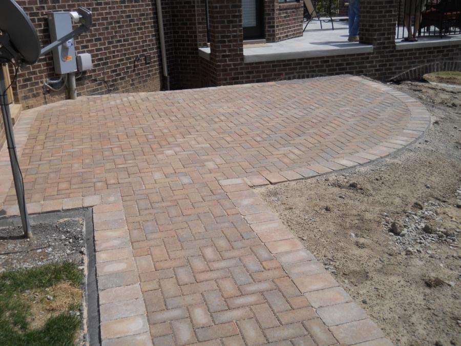 Macomb County Brick Paver Patio